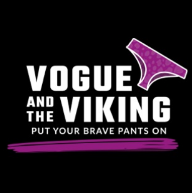 Putting on my Brave Pants with Vogue and the Viking